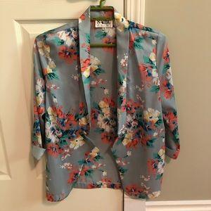 Sabo Skirt floral blazer
